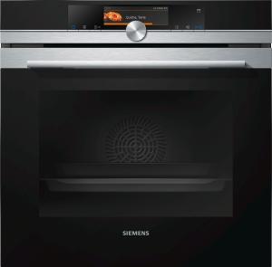 Siemens Dampfbackofen HS658GXS6 Edelstahl mit 15Heizarten 3fach Vollauszug plus HomeConnect LED A+