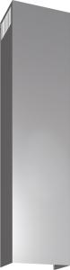Siemens LZ12365 Kaminverlängerung 1500 mm EdelstahlDunstabzugshauben-Zubehör