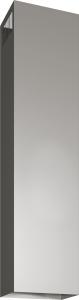 Siemens LZ12385 Kaminverlängerung 1600 mm EdelstahlDunstabzugshauben-Zubehör