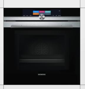 Siemens HN678G4S6 Einbaubackofen Edelstahl mit Mikrowelle u.activeClean HomeConnect 15Heizarten