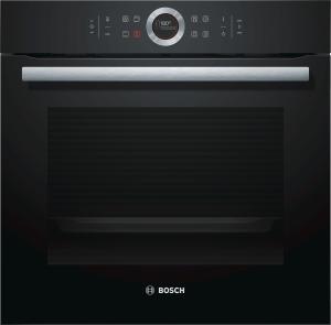 Bosch HBG635BB1 Einbaubackofen schwarz 13Heizarten A+ Temperaturregelung 30-300 Grad