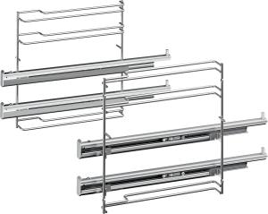 Bosch HEZ638270Teleskop-Vollauszug 2-fach, pyrolysef.Herde/Backöfen-Zubehör