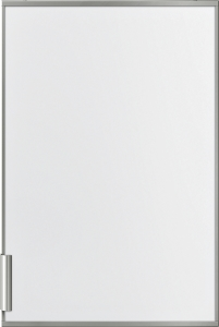Siemens KF20ZAX0Zubehör KühlschränkeDekortüre mit Alurahmen, weißer Front und Alugriff, passend für: KI21R, KI22L. Montage wie handelsübliche Möbelfront