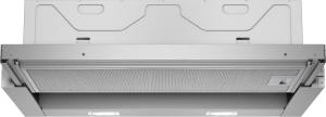 Siemens LI64LA530 Silbermetallic 60 cm Flachschirmhaube A+