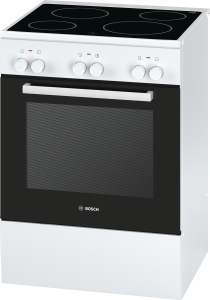 Bosch HCA42220 Standherd 60cm weiß m.Glaskeramik-Kochfeld