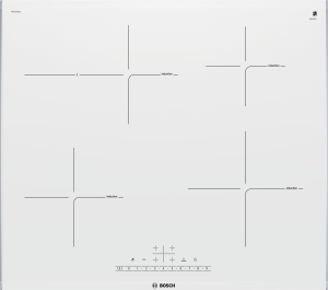 Bosch PIF672FB1E Induktionskochfeld 60cm PolarWeiß ComfortProfil 17Leistungsstufen