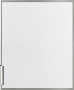 Siemens KF10ZAX0 Zubehör Kühlschränke weiße Türfront mit Dekorrahmen und Griff aus Aluminium, Abmessungen: 725 x 592 mm