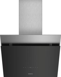 Siemens LC68KPP60 Schwarz mit Glasschirm Wand-Esse, 60 cm