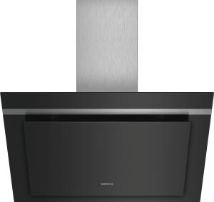 Siemens LC87KHM60Wandesse 80cm schwarz mit Glasschirm Intensivstufe 680cm³/h LED FFK:B