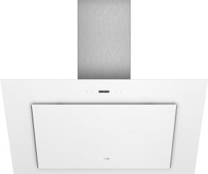 Siemens LC98KLP20 Weiß mit Glasschirm Wand-Esse, 90 cm