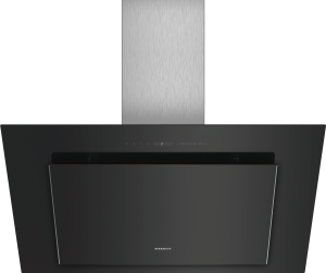 Siemens LC98KLV60 Schwarz mit Glasschirm Wand-Esse, 90 cm