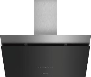 Siemens LC98KPP60 Schwarz mit Glasschirm Wand-Esse, 90 cm