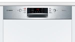 Bosch SMI46CS01ESilence Plus Geschirrspüler 60 cm Integrierbar - Edelstahl 46dB A+++