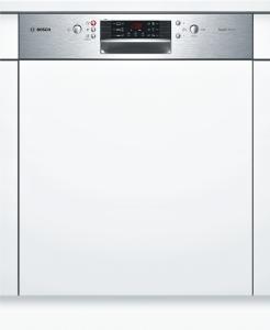 Bosch SMI46IS00EEinbaugeschirrspüler 60 cm Integrierbar - Edelstahl 46/43dB 6Programme A++