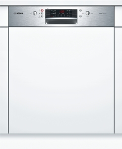 Bosch SMI46IS00ESilence Plus Geschirrspüler 60 cm Integrierbar - Edelstahl