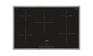 Bosch PIV845FB1EEdelstahl, umlaufender Rahmen 80 cm Induktions-Kochfeld Glaskeramik