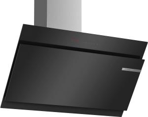 Bosch DWK97JR60Wandesse, 90 cm Schräg-Essen-Design schwarz 730 cbm/h LED-Modul