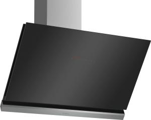 Bosch DWK98PP60Wandesse, 90 cm Schräg-Essen-Design schwarz 840 cbm/h LED-Modul