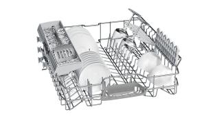 Bosch SMI25AS00ESilence Plus Geschirrspüler 60 cm Integrierbar - Edelstahl