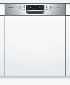 Bosch SMI46GS01E Silence Plus Geschirrspüler 60 cm Integrierbar Edelstahl 46dB 6ProgrammeA++