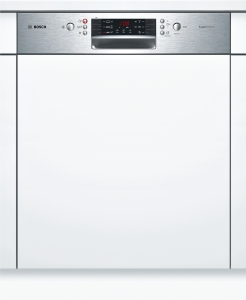 Bosch SMI46IS03ESuperSilence Geschirrspüler 60 cm Integrierbar - Edelstahl