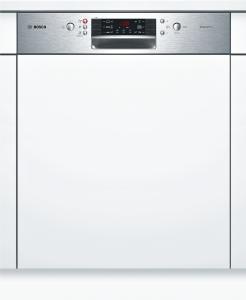 Bosch SMI46MS01ESilence Plus Geschirrspüler 60 cm Integrierbar - Edelstahl Besteckschublade A++