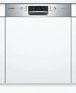 Bosch SMI46MS03ESuperSilence Geschirrspüler 60 cm Integrierbar - Edelstahl