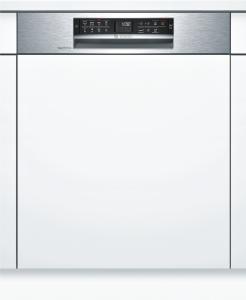 Bosch SMI68MS02E SuperSilence Geschirrspüler 60 cm Integrierbar - Edelstahl 42/39 dB Besteckschublade A++