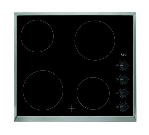 AEG HK614000XB Glaskeramik-Kochfeld, autark, 60cm