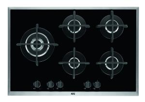 AEG HG795550XB GaskochfeldOptiFit Frame - Edelstahlrahmen