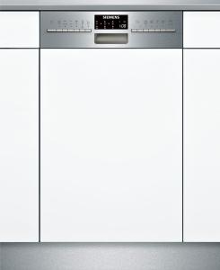 Siemens SR556S01TE Integrierbar - Edelstahl - speedMatic45 Geschirrspüler 45 cm