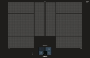 Siemens EX801KYW1E 80 cm Induktions-Kochfeld autark,flächenbündig,HomeConnect-fähig über WLAN