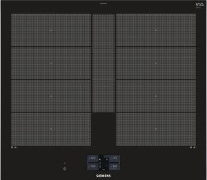 Siemens EX675JYW1E 60 cm Induktions-Kochfeld autark Glaskeramik Facettendesign BratsensorPlus