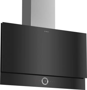 Bosch DWF97RU60 Wandesse, 90 cm schwarz Flach-Design730 cbm/h LED-Modul