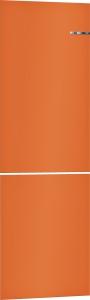 Bosch KSZ1BVO00 Austauschbare Farbfront für Vario Style Kühl-Gefrier-Kombination (Orange)