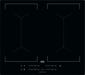 AEG IKE64450IB Kochfeld Induktion 60 cm 4-fach MaxiSense Plus flächenbündig