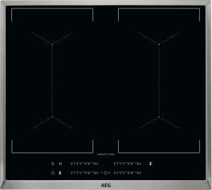 AEG IKE64450XB Kochfeld Induktion 4-fach MaxiSense PlusEdelstahlrahmen 60 cm