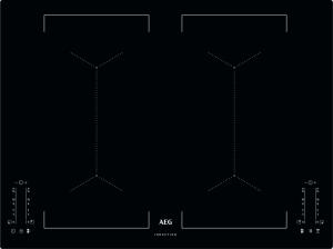 AEG IKE74451IB Kochfeld Induktion 4-fach MaxiSense Plus flächenbündig70 cm