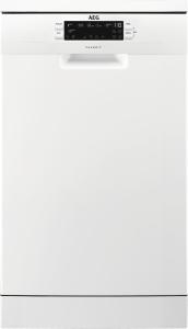 AEG FFB62400PW Stand Geschirrspüler 45 cm weiß EEK: A++ ab 9,9l 45 dB