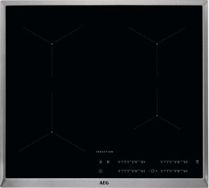 AEG IKB64431XB Kochfeld Induktion 4-fach MaxiSense Plus Edelstahlrahmen 60 cm