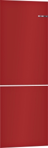 Bosch KSZ1AVR00 Kirschrot - Austauschbare Farbfront für Vario Style Kühl-Gefrier-Kombination