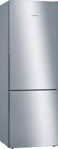 Bosch KGE49VI4A Stand Kühl-Gefrier-Kombi 201cm Edelstahl mit Anti-Fingerprint A+++