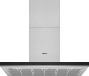 Siemens LC98BIT50Wandesse 90cm breit Luftleistung 843m³/h bei Abluftbetrieb HomeConnect A+