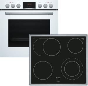 Bosch HND411LW61 ( HEA513BW2 + NKN645GA1E ) weiß