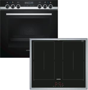 Siemens EQ561DA00 ( HE519GBS6, EM645CQB5E ) Herdset 13 Heizarten cookControl40 HomeConnect