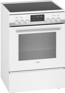 Siemens HK9S7R220 Standherd 60 cm weiß9 Heizarten PyrolysecookControl30 EEK: A