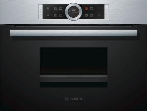 Bosch CDG634AS0 Dampfgarer 45 cmAutoPilot20TFT-DisplayEdelstahl