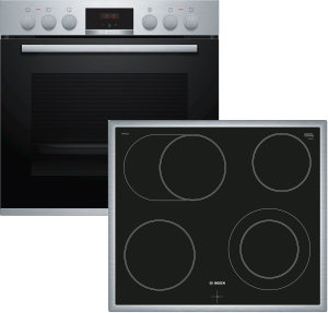Bosch HND431CS61 ( NKN645GA1E, HEA533BS2 ) HerdsetLED-Display5 Heizarten
