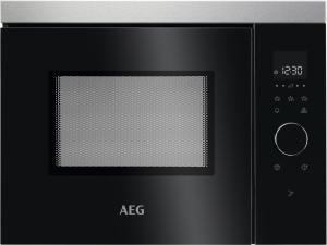 AEG MBB1755SEM Einbau-Mikrowelle 38 cm Nischenhöhe für Hochschrank (NICHT für Hängeschränke) geeignet!