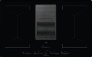 AEG IDK84453IB Induktionskochfeld mit integriertem DunstabzugUMLUFTHob²HoodBridge-Funktion